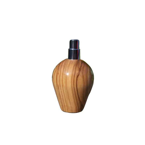 Olive Wood Travel Spray Refillable Holder - Zouf.biz