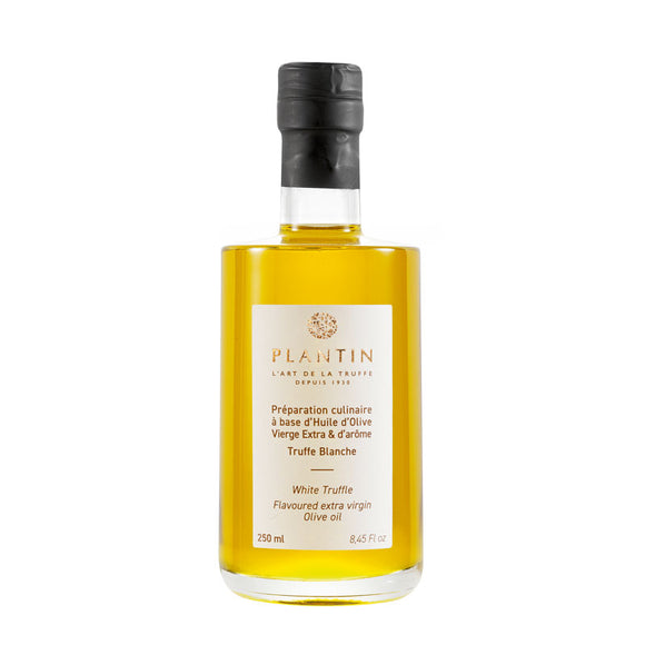 Extra Virgin Olive Oil with White Truffles - 250ml - Zouf.biz