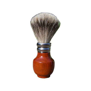 Pure Silver Tip Badger Shaving Brush Pernambuco Wood - Zouf.biz