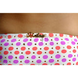 Pink and Golden Polka Dots Bikini - Zouf.biz
