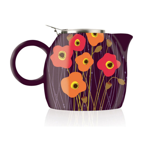 Pugg Teapot Poppy Fields - Zouf.biz