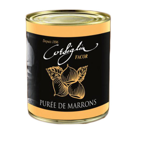 Puree de Marrons (Chestnut Puree) - 870g - Zouf.biz