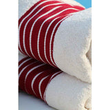 Luxury Red 100% Cotton Face Cloth - Zouf.biz