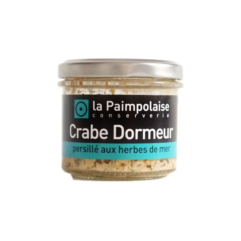 Edible Crab Rillettes with Seaweed Persillade - 80g - Zouf.biz