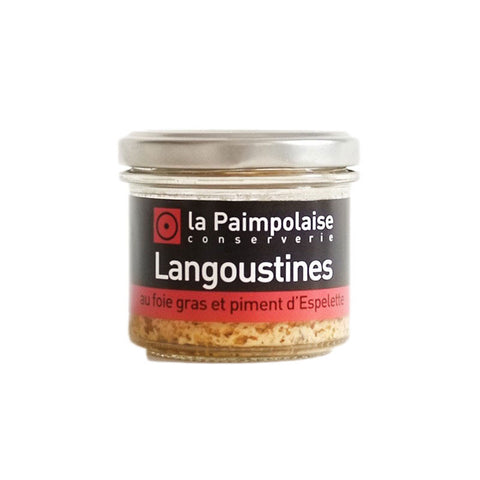 French Langoustine Rillettes with Foie Gras & Espelette Pepper - 80g