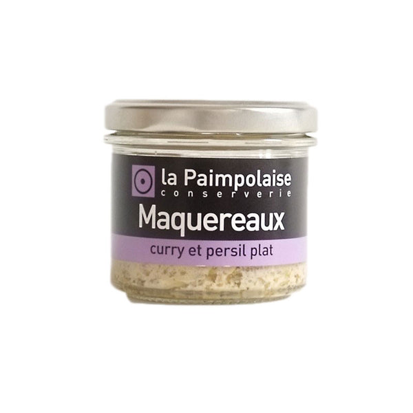 Mackerel Rillettes with Curry & Flat-Leaf Parsley - 80g - Zouf.biz