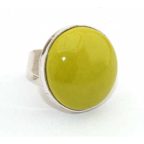 Anise Bulle Cabochon Ring - Zouf.biz