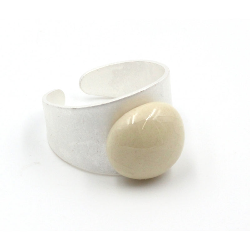 Ivory Coffee Ring - Zouf.biz
