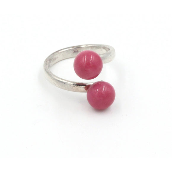 Raspberry Duo Meteorite Ceramic Ring - Zouf.biz