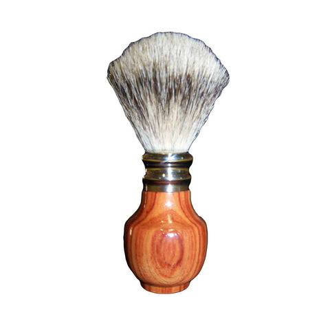 Pure Silver Tip Badger Shaving Brush Rosewood - Zouf.biz