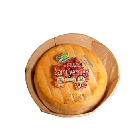 French Saint Vernier wine washed cheese