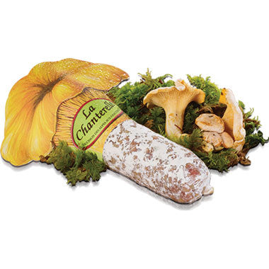 Saucisson Sec Chanterelle Mushrooms 400g Zouf.biz