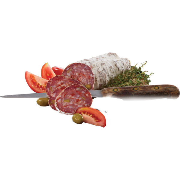 Saucisson Sec - Sun Dried Tomatoes and Green Olives - 200g - Zouf.biz