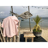 Powder Pink Washed Cotton Sarong - Zouf.biz