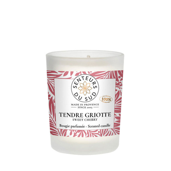 Scented Candle Sweet Cherry - 75g - Zouf.biz