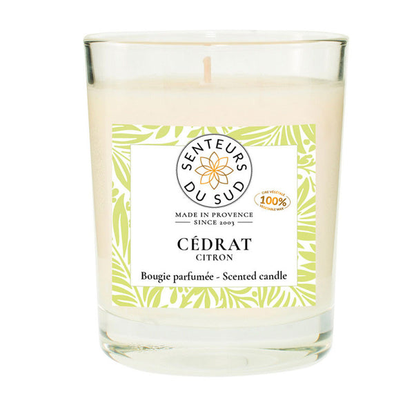 Scented Candle Citron - 140g - Zouf.biz