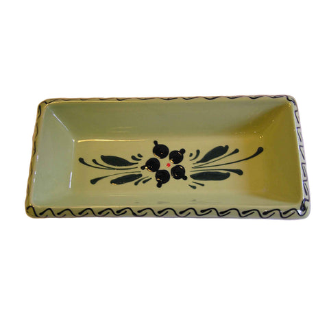 Flower Serving Dish 21cm - Green - Zouf.biz