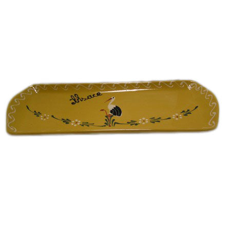 Bird Serving Plate 37cm - Yellow - Zouf.biz