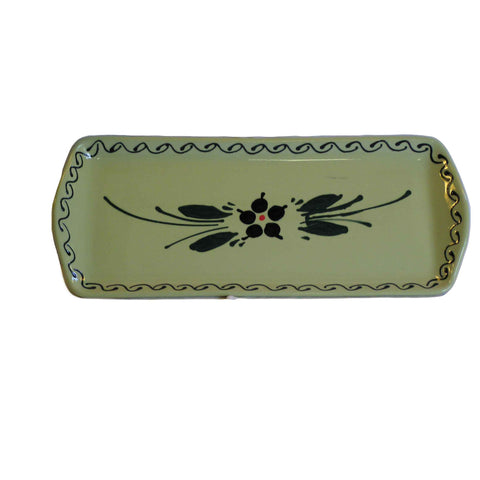 Flower Serving Plate 37cm - Green - Zouf.biz