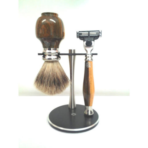 Guayacan Wood Shaving Set - Zouf.biz