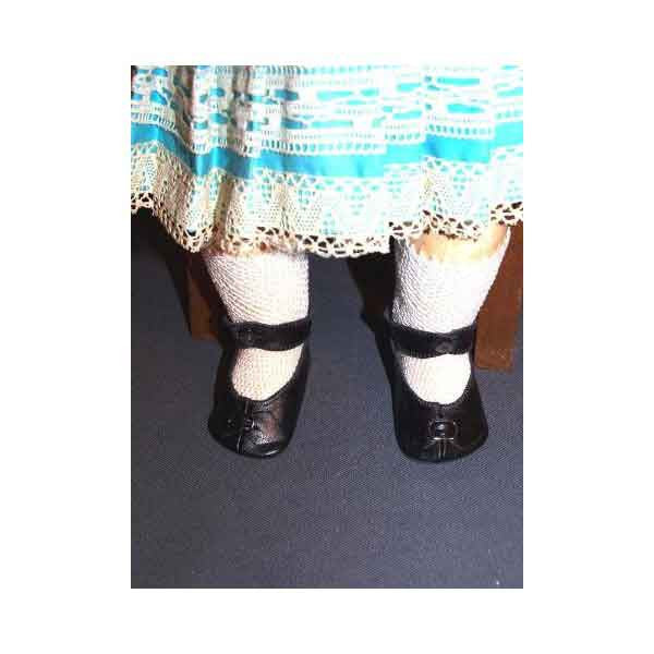 Black Antique Doll Shoes - Zouf.biz