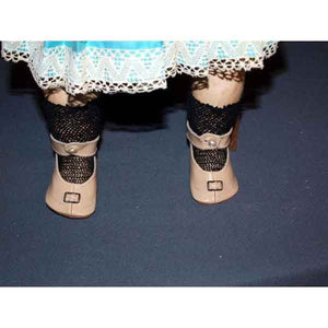 Ivory Antique Doll Shoes - Zouf.biz