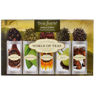 World of Teas, Loose Tea Single Steeps - Zouf.biz