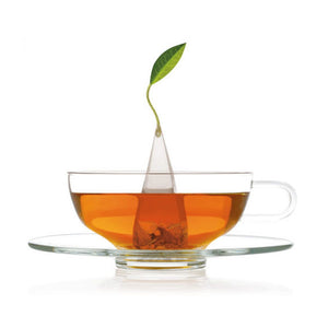 Sontu Glass Tea Cup & Saucer - Zouf.biz