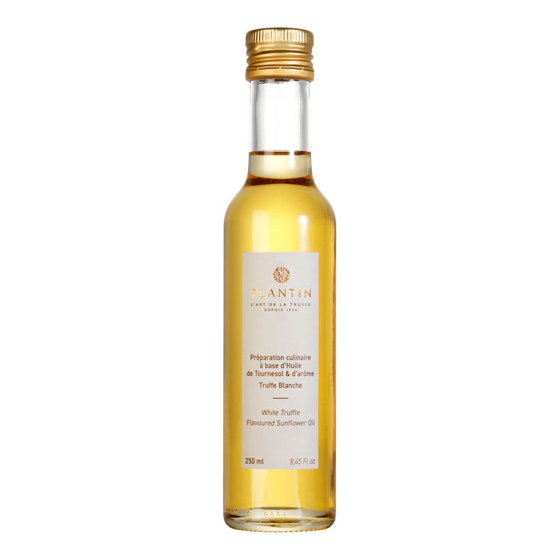 Sunflower Oil with White Truffle - 250ml - Zouf.biz