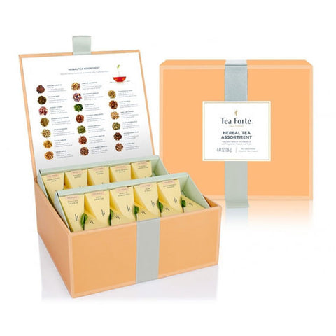 Herbal Tea Chest Tasting Assortment Collection