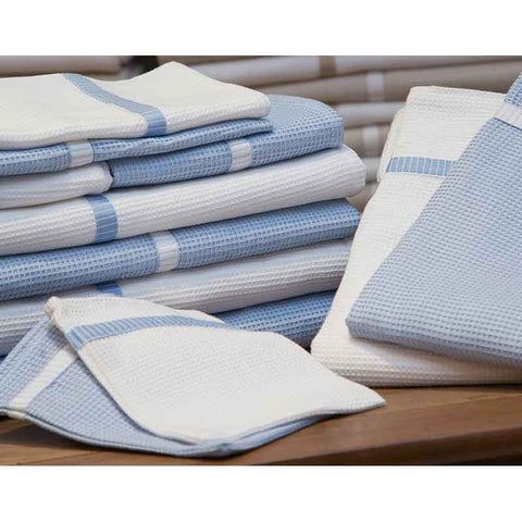Finest Blue Honeycomb Guest Towel - Zouf.biz