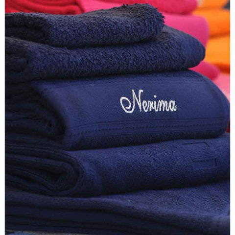 Cap-Ferret Navy 100% Cotton Bath Towel - Zouf.biz