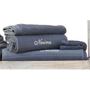 Cap-Ferret Grey 100% Cotton Bath Towel - Zouf.biz