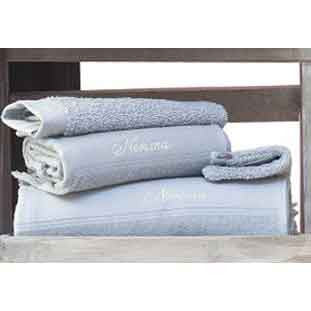 Cap-Ferret Silver 100% Cotton Bath Towel - Zouf.biz