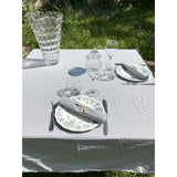 Washed Pure Cotton Grey Tablecloth - Zouf.biz