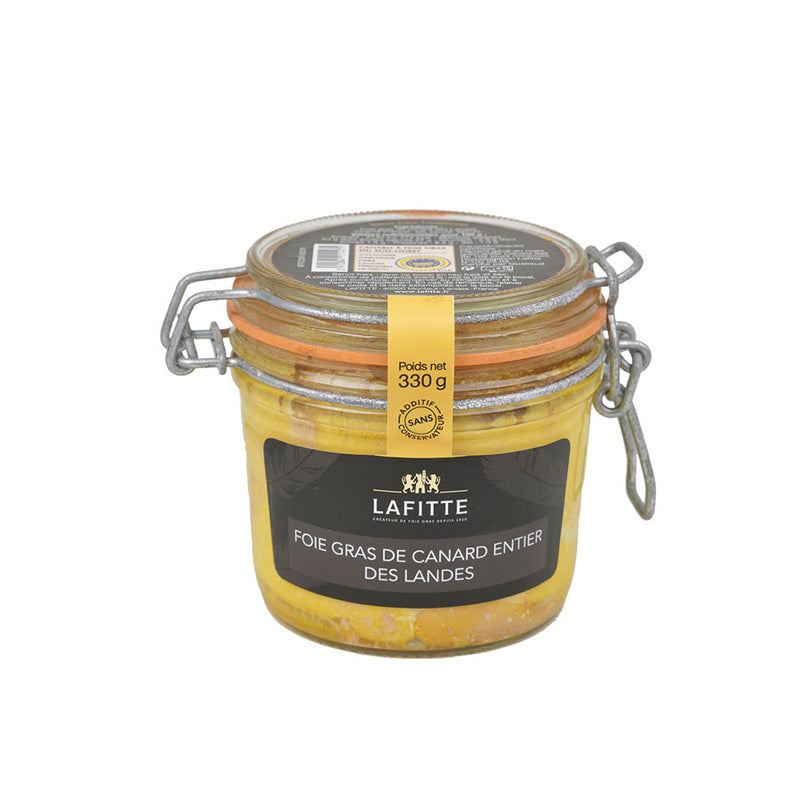 Whole Duck Foie Gras - 330g Jar - Silver Medal - Zouf.biz