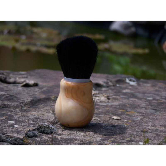Makeup Brush Yew Wood Handle - Zouf.biz