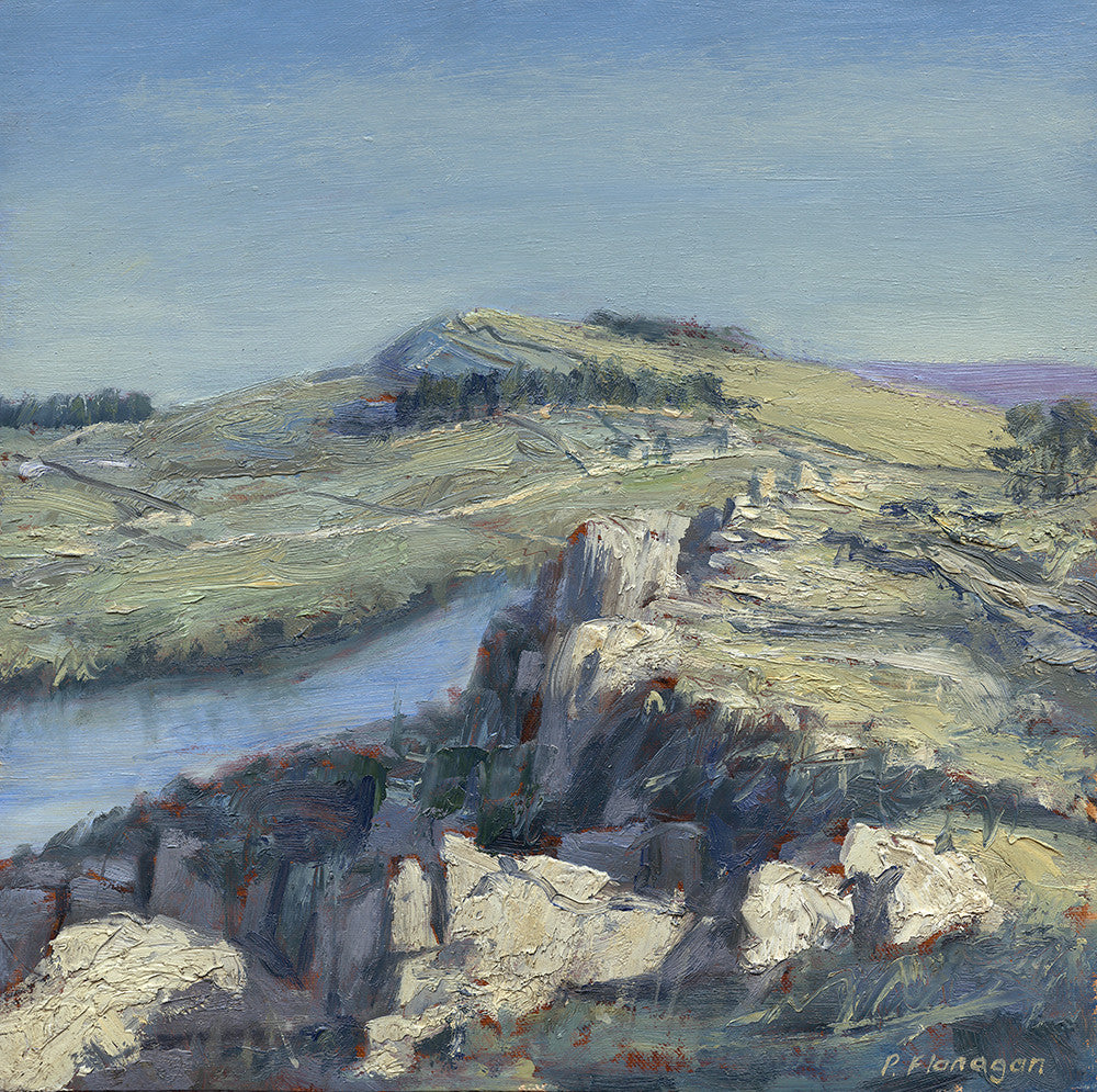 Hadrian's Wall at Highshield Crag