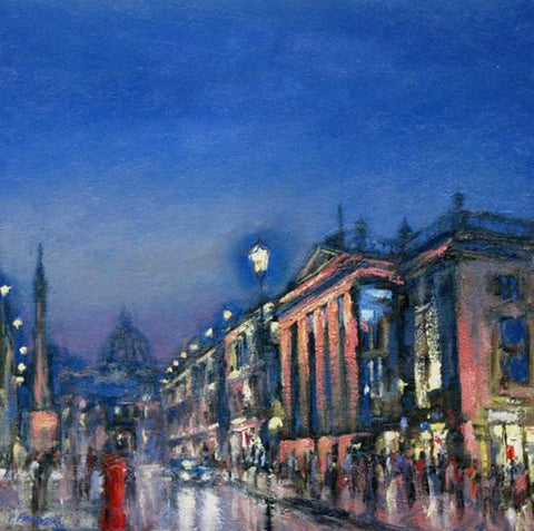 Theatre Royal at Night. (Sold)