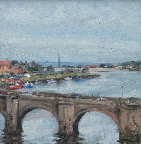 Berwick Old Bridge. (Print)