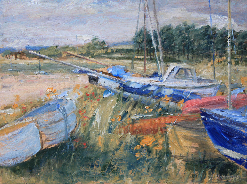 Beached Boats at Alnmouth.