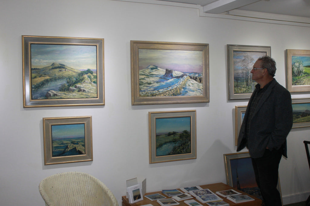 Exhibition at my gallery in Hexham, November 2015