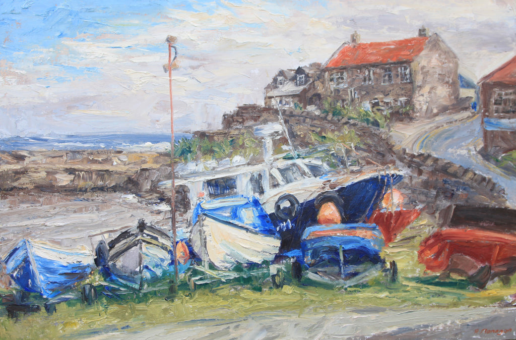 Craster, Beached Boats
