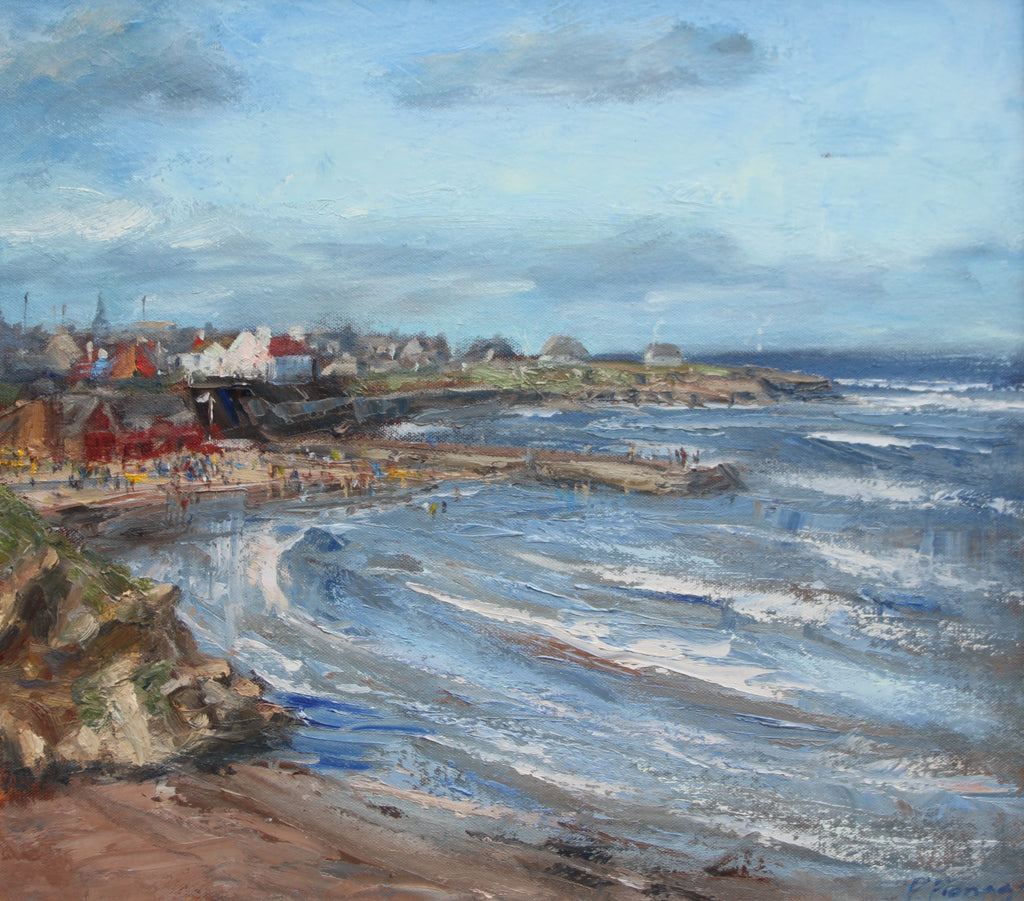 Cullercoats Bay, July
