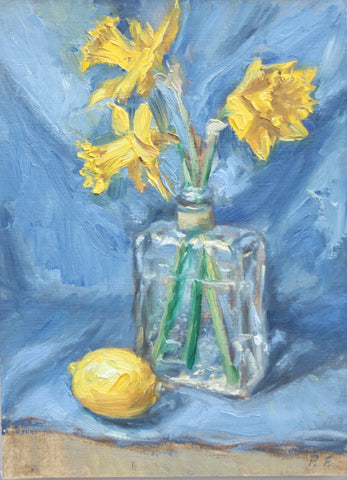 Daffodils and Lemon