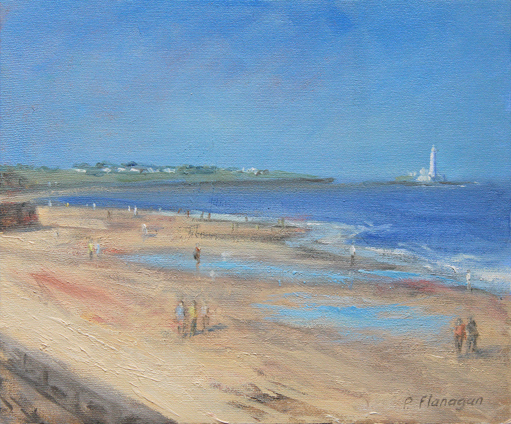 Whitley Bay towards St Marys Lighthouse