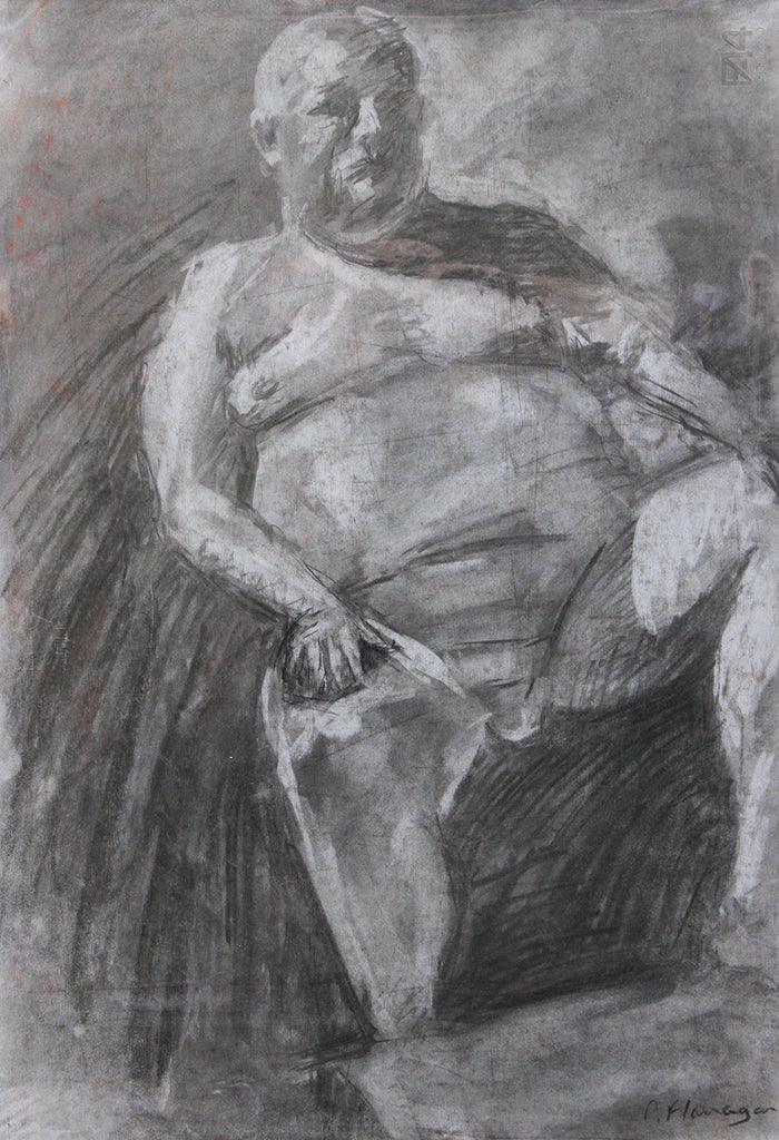 Seated Nude, Paul 1