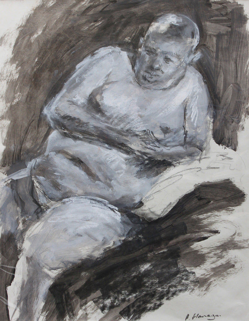 Seated Nude, Paul 3