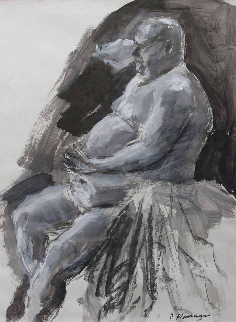 Seated Nude, Paul 4