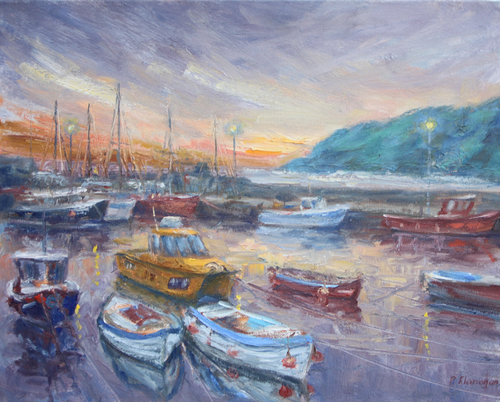 Stonehaven Harbour at Sunrise